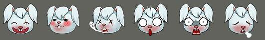 刀疤兔表情